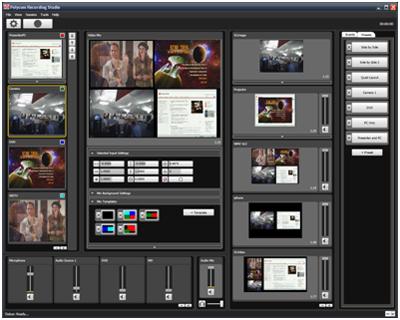 Polycom® Recording Studio (PRS) 2000